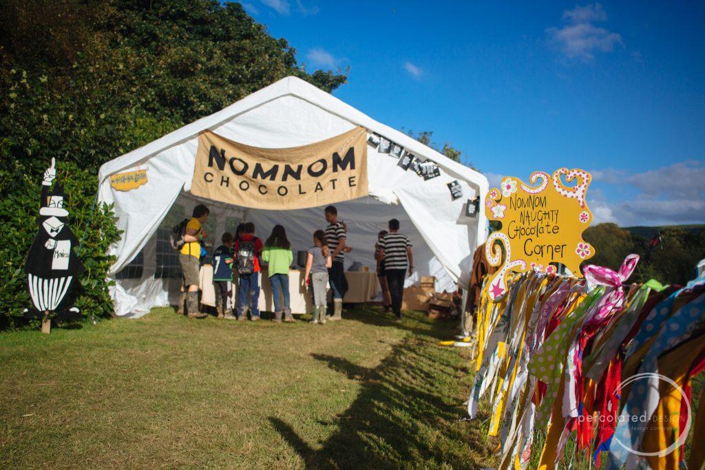 NomNom Chocolate at The Big Cwtch Festival