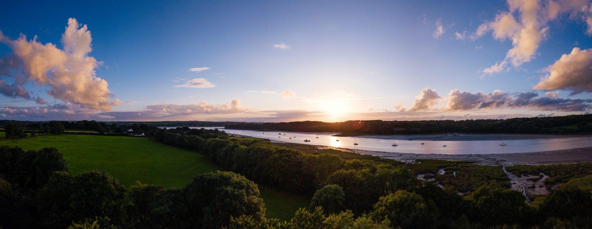 Mavic Pro Landshipping Sunset 2