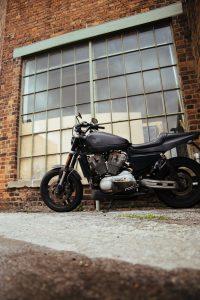 Bare Bones Harley Davidson