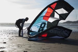kitesurfing newgale