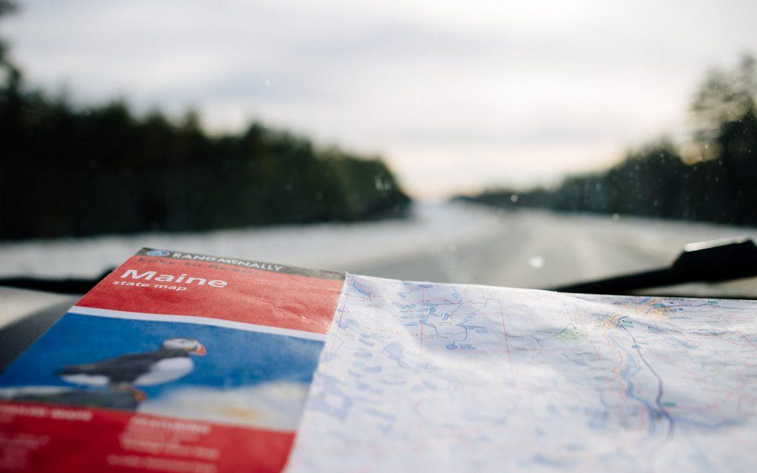 American Road trip Highway 1